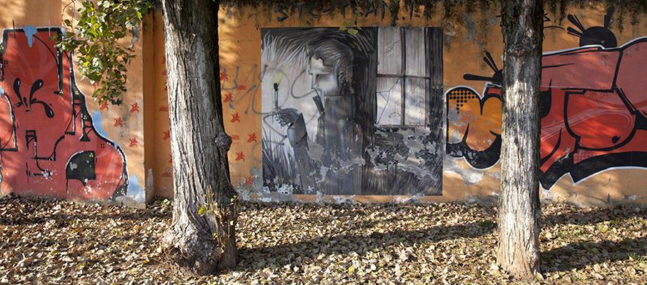 Graffiti via Pisano Badile Verona