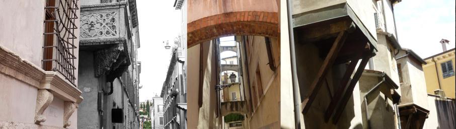 Via Milei, Vicolo Raggiri centro storico a Verona